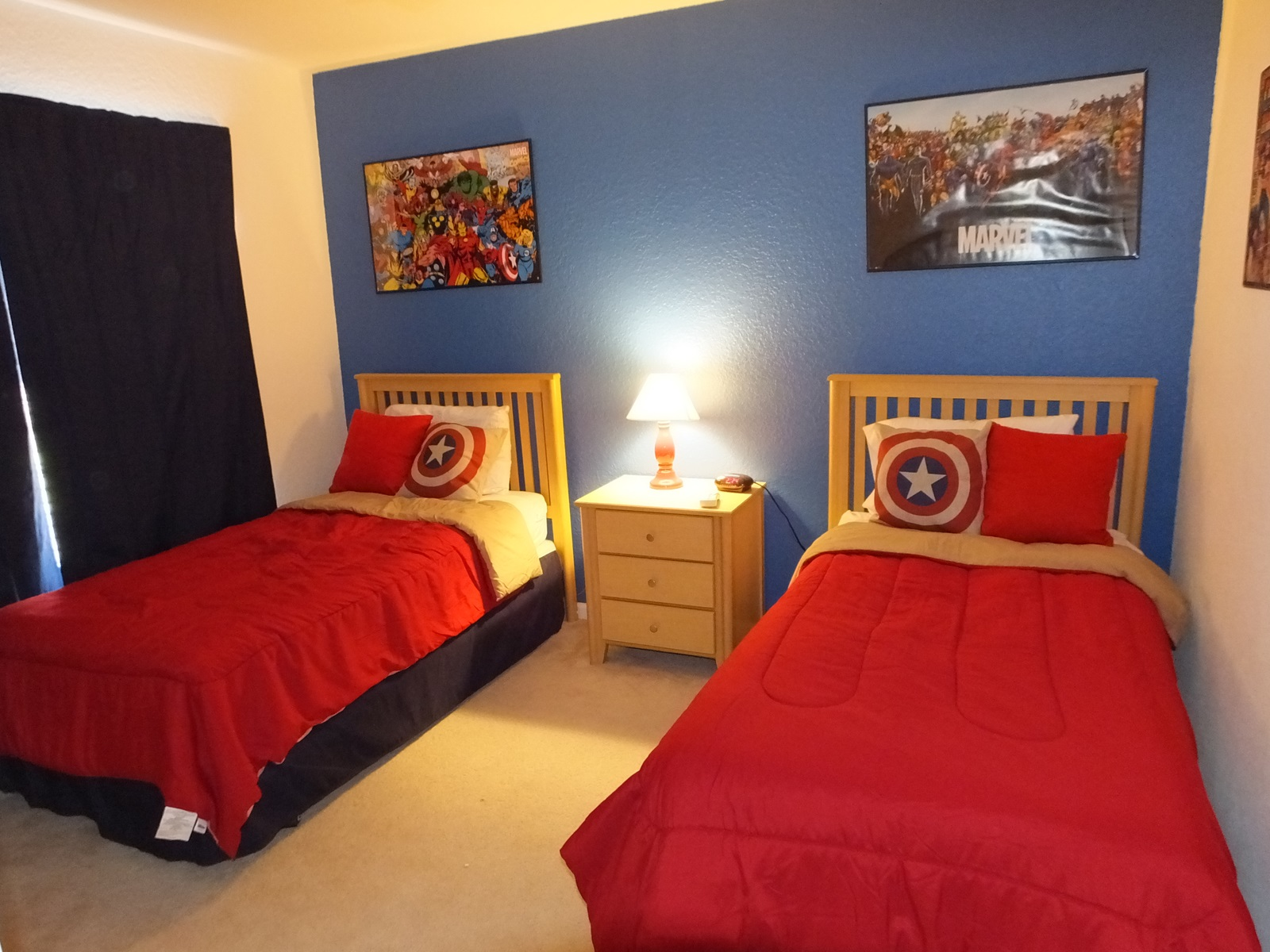 Disney at windsor hills amenities our 6 bedroom vacation home is fully loaded of fun and - Comic themed bedroom ...